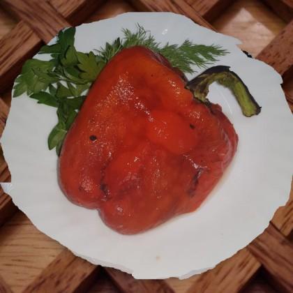 Перец сладкий на мангале